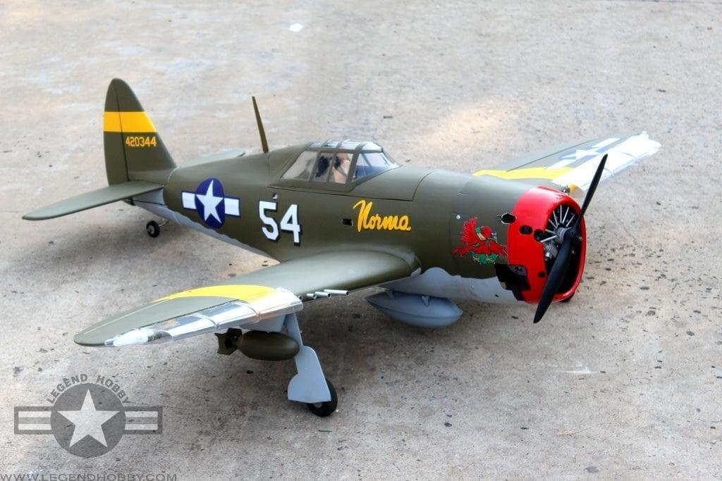 """SEAGULL P-47D """"LITTLE BUNNY"""" MK-11 10cc With NACA DROOPS - SEA338"""